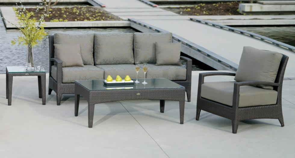 patio dining size table furniture outdoor miami glass plastic rst set medium of round piece modern