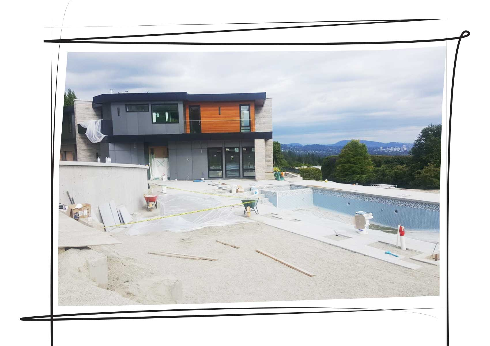 BC Home Leisure Poolside Construction