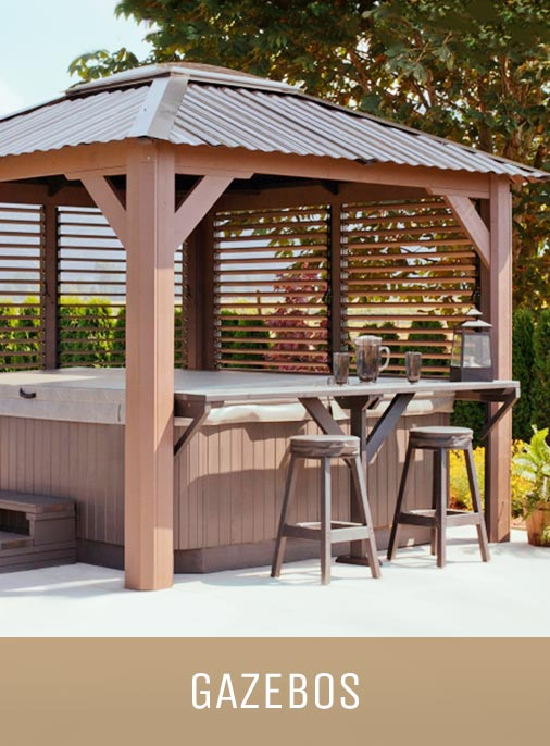 Display image of a gazebo