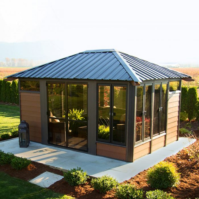 Display image of a gazebo Barcelona Model