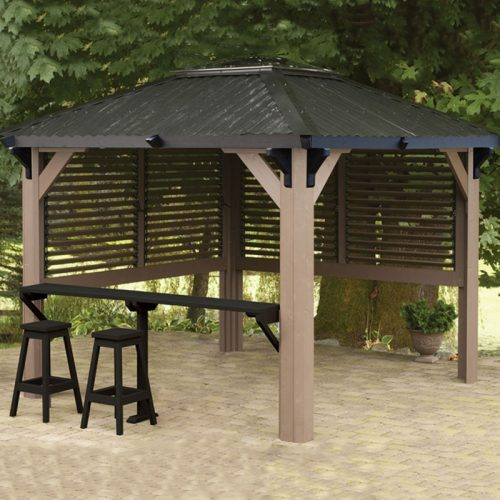 Display image of a gazebo Canterbury Model