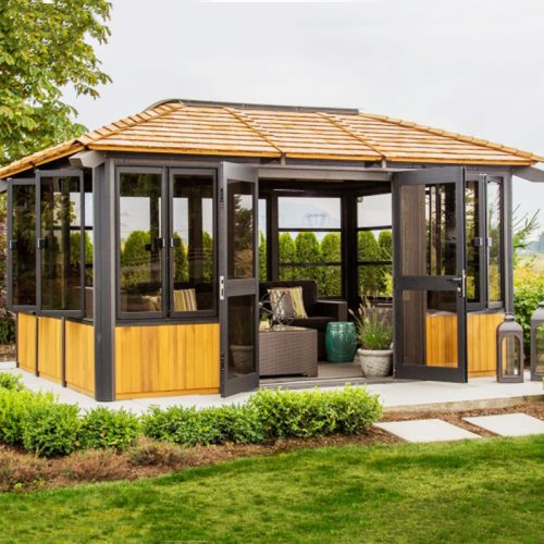 Display image of a gazebo Chilliwack Model