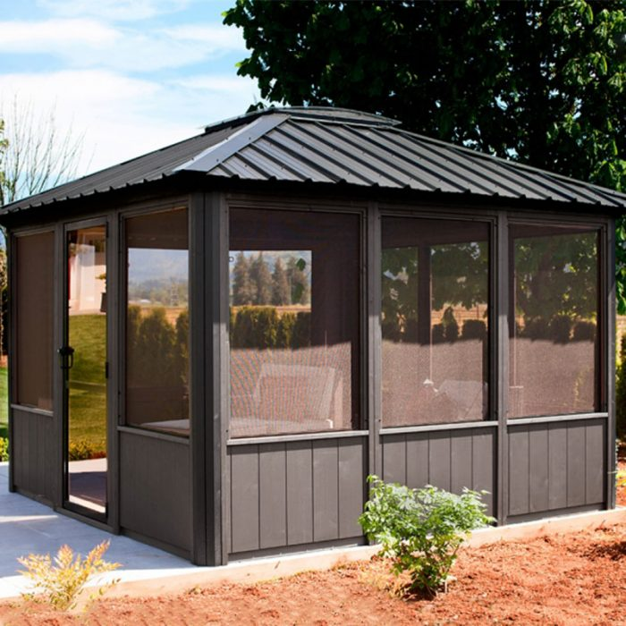 Display image of a gazebo Jasper Model