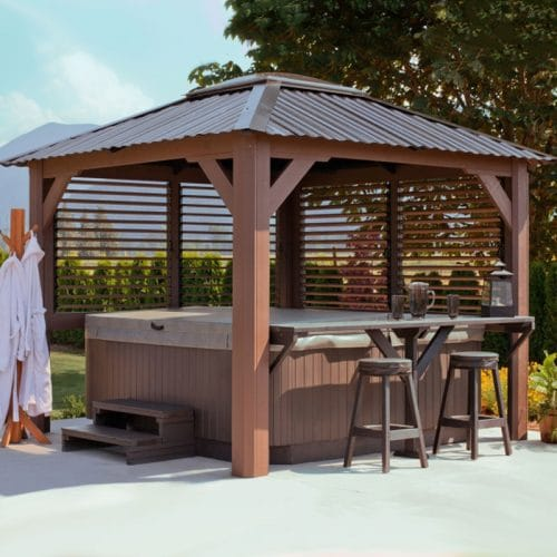 Display image of a gazebo Mt Alta Model