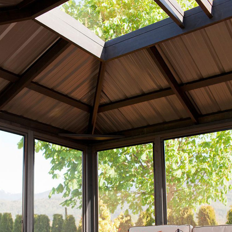 Display image of a gazebo Okanagan Model