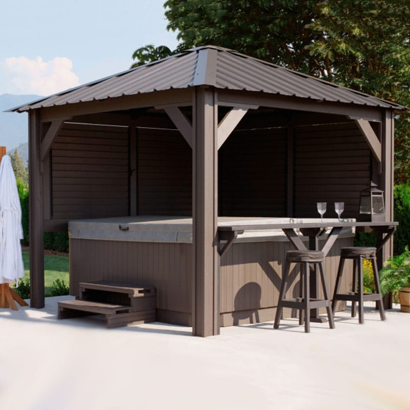 Display image of a gazebo Sienna Model
