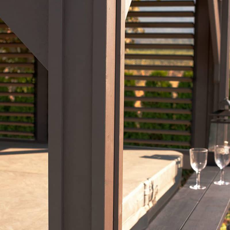 Display image of a gazebo Sienna Model