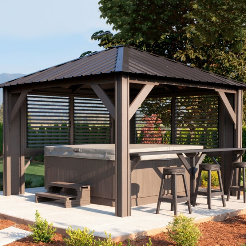 Display image of a gazebo Tuscany Model