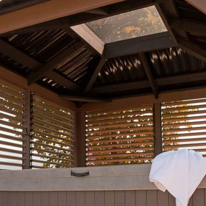 Display image of a gazebo Windsor Model