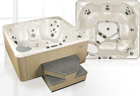 BC Home Leisure Langley 500 Series Beachcomber Hot Tub
