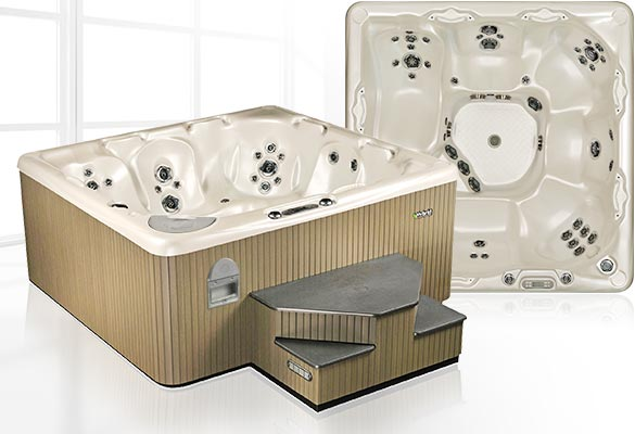 BC Home Leisure Langley 700 SLB Air Series Beachcomber Hot Tub