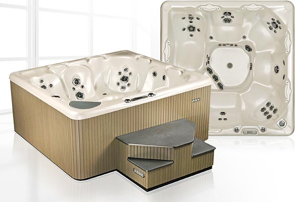 BC Home Leisure Langley 700 Series Beachcomber Hot Tub
