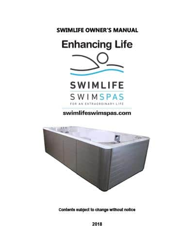 SwimLife Owner's Manual